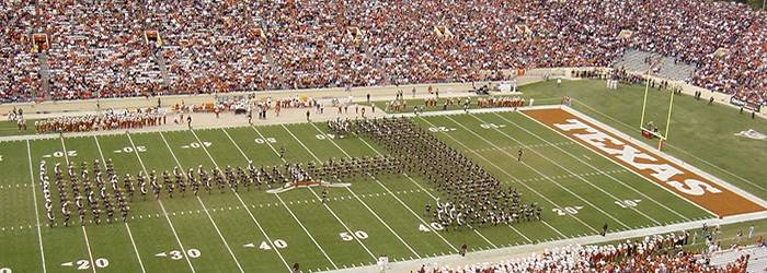 Fighting Aggie Band at UT